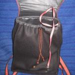 Ryggsäck, nyckelband med hake